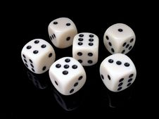 Free Dice Game, Dice, Games, Indoor Games And Sports Stock Images - 99202634
