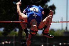 Free Athletics, Jumping, Sports, High Jump Royalty Free Stock Image - 99207746