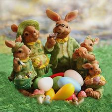 Free Easter, Grass, Easter Bunny, Play Stock Images - 99208444