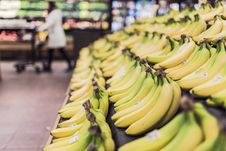 Free Banana, Yellow, Banana Family, Produce Royalty Free Stock Photography - 99208907
