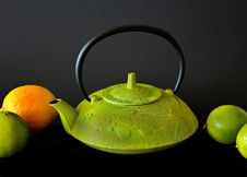 Free Teapot, Green, Tableware, Still Life Photography Royalty Free Stock Photography - 99209727