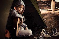 Free Sitting, Girl, Human Behavior Stock Photography - 99215952