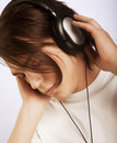 Free Casual Man Listening To Music Stock Images - 9933084