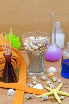 Free Accessories For The Well Being Stock Photography - 9930542