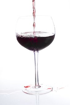 Free Red Wine Or Beverage Stock Photo - 9932420