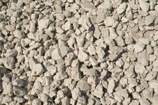 Free Pile Of White Stones Royalty Free Stock Image - 9932476