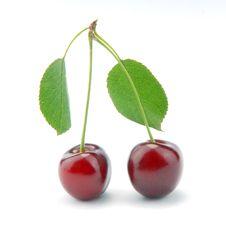 Free Sweet Cherries Stock Images - 9932634