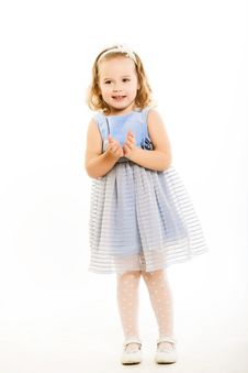 Free Little Girl Royalty Free Stock Images - 9932819