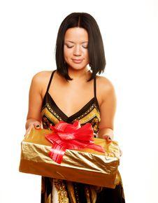 Free Gift Royalty Free Stock Image - 9932936