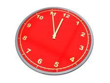 Free Clock Royalty Free Stock Photography - 9933387