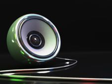 Free Audio Speaker Stock Image - 9933571