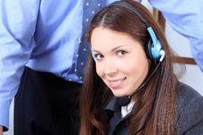 Free Female Operator Stock Photos - 9934233