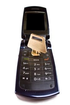 Free Communication Security Concept Stock Image - 9934661