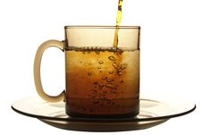 Free Glass Cup Of Tea Stock Photo - 9935070