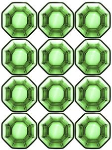 Free Background From Octagonal Glass Cells Stock Images - 9935074