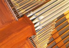 Free Organ Pipes Stock Photography - 9935592