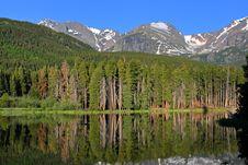 Free Beautiful Mountain Lake Stock Photos - 9935613