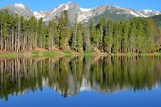 Free Beautiful Mountain Lake Stock Images - 9935614