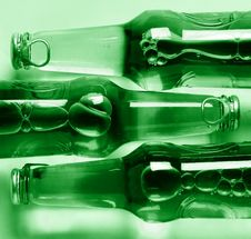 Free Three Bottles Royalty Free Stock Image - 9936026