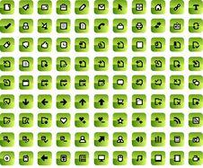 Free Vector Icons Set. Stock Photo - 9936650