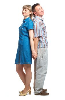 Happy Loving Couple Royalty Free Stock Image