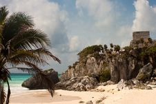 Free Tulum Ruins Stock Photos - 9939243