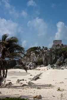 Free Tulum Ruins Stock Image - 9939251