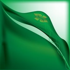 Free Green Satin Application Stock Images - 9939394