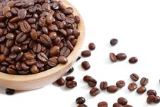 Free Fresh Coffee Bean Series 02 Royalty Free Stock Photo - 9939635
