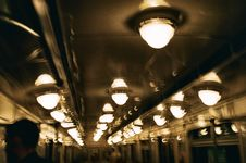 Free LAMPS IN SAINT PETERSBURG METRO Stock Photos - 99338483