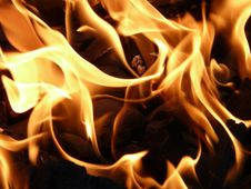 Free Flame, Yellow, Fire, Orange Stock Photography - 99341912