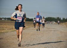 Free Road, Running, Ultramarathon, Race Royalty Free Stock Image - 99347676