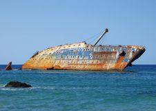 Free Water Transportation, Shipwreck, Sea, Watercraft Royalty Free Stock Photo - 99349275