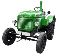 Free Tractor, Agricultural Machinery, Motor Vehicle, Vehicle Royalty Free Stock Images - 99349919