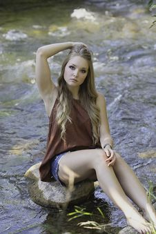 Free Nature, Beauty, Human Hair Color, Model Royalty Free Stock Photography - 99360127