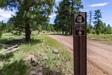 Free Arizona Trail: Anderson Mesa AZT-30 Stock Photos - 99383283