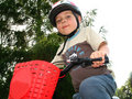 Free Little Biker Royalty Free Stock Photography - 9943337