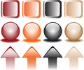 Free Coloured Snap Fasteners Stock Image - 9943821