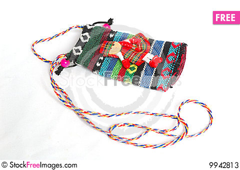 Small bag Stock Photo