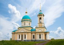 Free Church On The Background Of The Sky Royalty Free Stock Images - 9940179