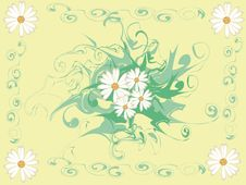 Free Letter With Flowers 2 Stock Image - 9940351