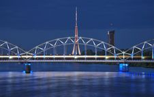 Free Bridge. Royalty Free Stock Photo - 9941065