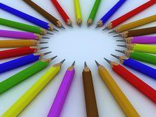 Free Pencils Royalty Free Stock Image - 9941276