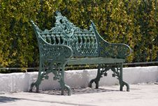 Free Bench In The Park Stock Image - 9941301