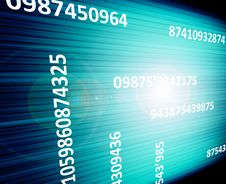 Free Numbers Royalty Free Stock Image - 9941486