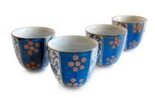 Free Blue Tea Cups Stock Photos - 9941793