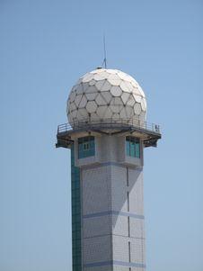 Flight Control Radar Royalty Free Stock Image