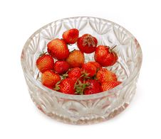 Free Two Strawberries Royalty Free Stock Photography - 9941857