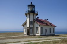 Free Lighthouse On The California Coastline Stock Image - 9942631