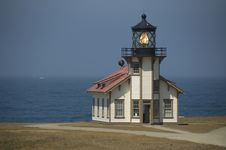 Free Lighthouse On The California Coastline Stock Photography - 9942642